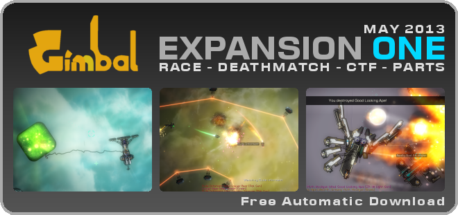 Gimbal Expansion 1 : RACE - DEATHMATCH - CTF - PARTS
